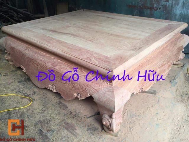 Sập gỗ hương đá trơn – mã 963