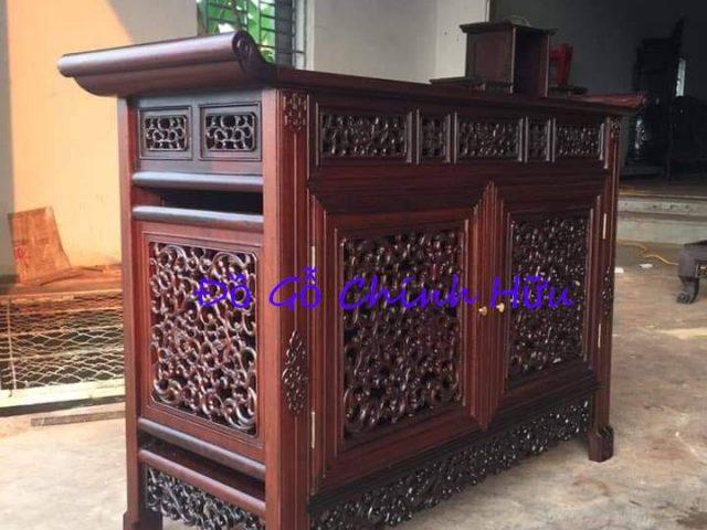 Tủ dắt Huế gỗ gụ – mã 1782