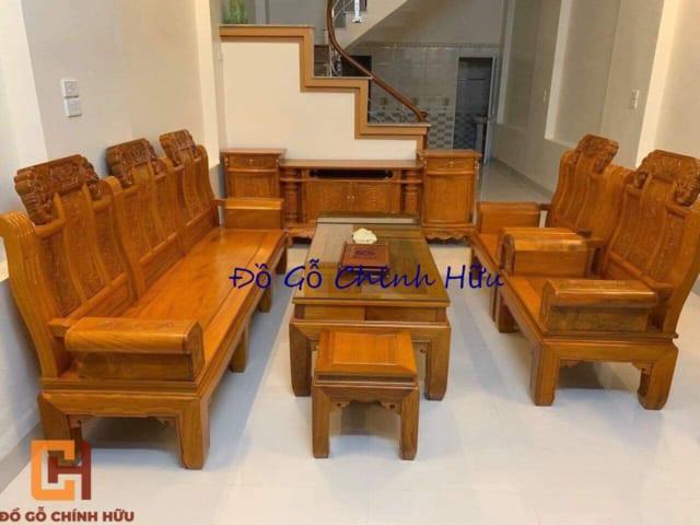 Bộ bàn ghế hộp âu á – mã 2217